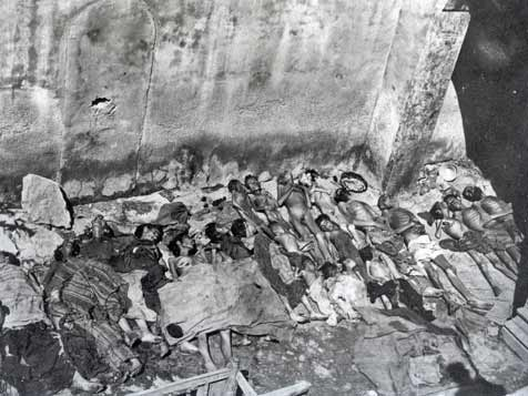 Armenian women and children murdered by the Turks during the Armenian genocide