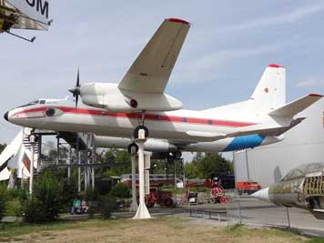Antonov An-26S aircraft that was used by the GDR government to transport high ranking officials like Erich Honecker