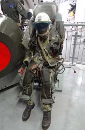 Early Soviet KM-1 Ejection Seat that was used in various models including the MiG-21 and MiG-23 fighters