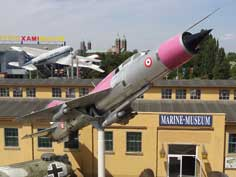 MiG-21PFM painted in the colors of the