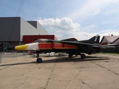 MiG-23BN that belonged to the Letecke museum in Prague with a Czech Air Force color scheme