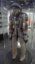 The Solkol space suit from Cosmonaut Viktor Michailowitsch Afanasjev used for the Soyuz TM-11 , TM-18 and TM-29 missions