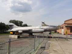 Yakovlev Yak-27R that was stationed on the Soviet Werneuchen Air Base in the GDR close to Berlin