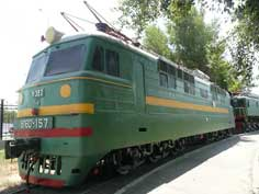 The VL60 (Vladimir Lenin) was the first Soviet electric locomotive produced in high numbers and was one of the main drivers of the Soviet railways during the 1960s