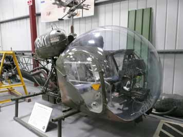 The Bell 47, famous from the Korean war and MASH TV series