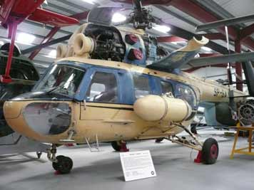 Mil Mi-2 build under license by the PZL-Swidnik plant in Poland