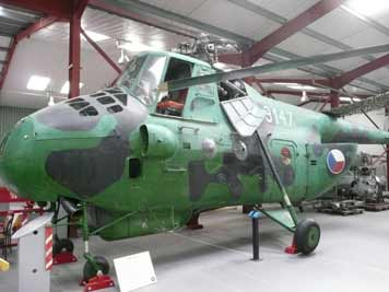 Mil Mi-4 Hound assault transport helicopter developed in 1951