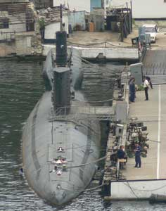 Activity around the Russian Romeo and Kilo class submarines
