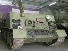 Czechoslovakian T-34 based Armoured recovery vehicle VT-34